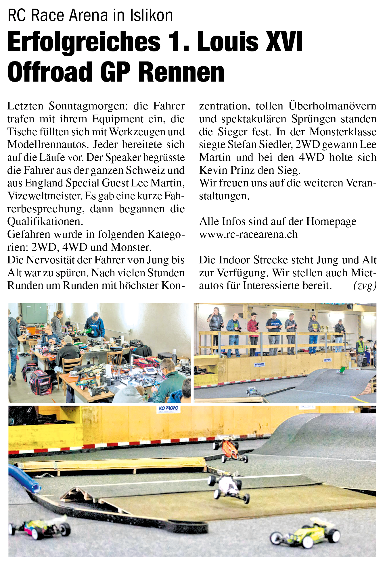 1. LOUIS XVI Offroad GP Islikon